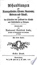 Abhandlungen zur Naturgeschichte