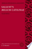 Sallust s Bellum Catilinae
