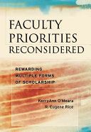 Faculty priorities reconsidered