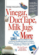Yankee Magazine Vinegar Duct Tape Milk Jugs More