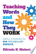Book Teaching Words and How They Work