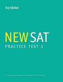 Ivy Global s New SAT Practice Test 3