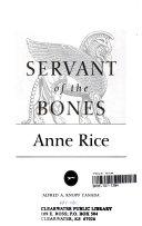 Servant of the Bones-book cover