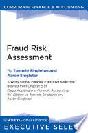 Fraud Risk Assessment