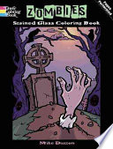Zombies Stained Glass Coloring Book