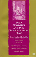 Four Georgian and Pre-Revolutionary Plays