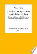 Nationenbildung in einem multiethnischen Staat