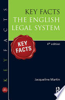Key Facts English Legal System