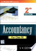 Accountancy For Class Xi