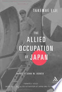 Allied Occupation of Japan