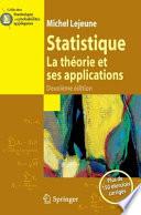 illustration Statistique. La théorie et ses applications