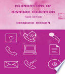 Foundations Of Distance Education book