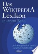 Das Wikipedia-Lexikon in einem Band