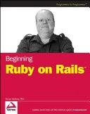 Beginning Ruby on Rails