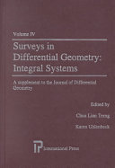 Surveys in differential geometry   integral systems