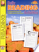 Daily Reading Activities  Fall