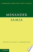 Menander  Samia  The Woman from Samos