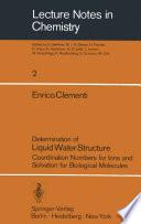 Determination of Liquid Water Structure