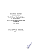 Our Mutual Friend  Vol  I   Paperbound