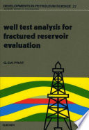 Well Test Analysis for Fractured Reservoir Evaluation