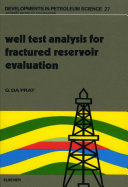 Well Test Analysis for Fractured Reservoir Evaluation Book