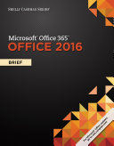 Shelly Cashman Series Microsoft Office 365   Office 2016  Brief