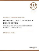 Dismissal And Grievance Procedures