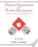 Clinical Supervision And Teacher Development 6th Edition