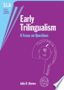 Early Trilingualism book