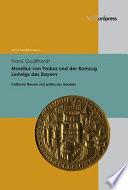 Marsilius von Padua und der Romzug Ludwigs des Bayern