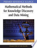 Mathematical Methods For Knowledge Discovery And Data Mining book