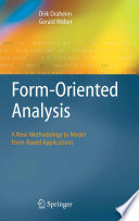 Form Oriented Analysis