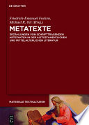 Metatexte