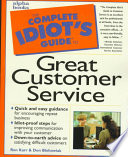 The Complete Idiot s Guide to Great Customer Service