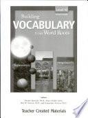 Building Vocabulary  Level 10 Kit