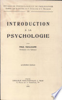Introduction    la psychologie