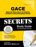 Gace Special Education Academic Content Concentrations Secrets Study Guide