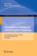 download ebook computational intelligence and information technology pdf epub