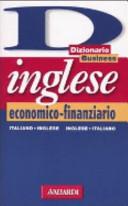 Dizionario business inglese economico finanziario