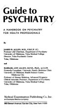 Guide to psychiatry