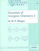 Essentials Of Inorganic Chemistry