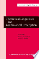 Theoretical Linguistics and Grammatical Description Papers in honour of Hans-Heinrich Lieb
