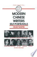 Modern Chinese Writers  Self portrayals