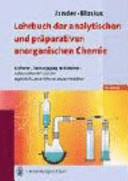 Lehrbuch der analytischen und pr  parativen anorganischen Chemie