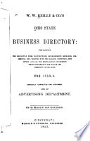 W.W. Reilly & Co.'s Ohio State Business Directory ... for 1834-5 ...
