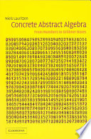 Concrete Abstract Algebra book