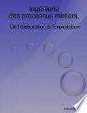 illustration Ingenierie Des Processus Metiers, de L'Elaboration A L'Exploitation