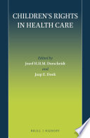 Children's Rights In Health Care : to children. the various chapters provide an...