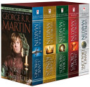 George R R Martin S A Game Of Thrones 5 Book Boxed Set Song Of Ice And Fire Series A Game Of Thrones A Clash Of Kings A Storm Of Swords A Feast For Crows And A Dance With Dragons
