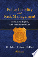 Police Liability and Risk Management